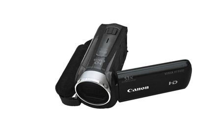 This is an image of a HD Canon video camera.