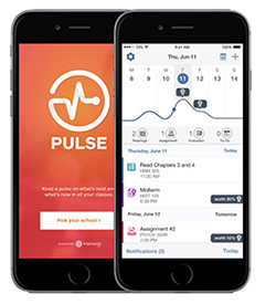 Picture of Phone with Pulse app