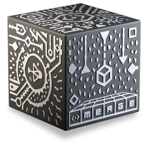 This is an image of the MergeCube.