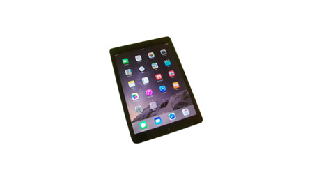 This is an image of an iPad.