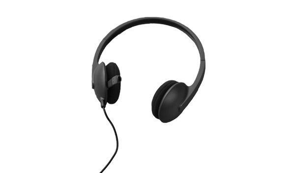This is an image of a pair of Logitech headphones.
