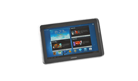 This is an image of a Samsung Galaxy tablet.