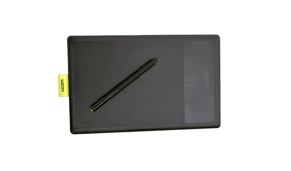 This is an image of a Wacom Bamboo drawing tablet.